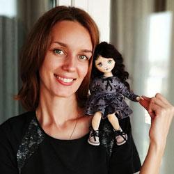 Автор-Кукла-Lina-ручной-работы