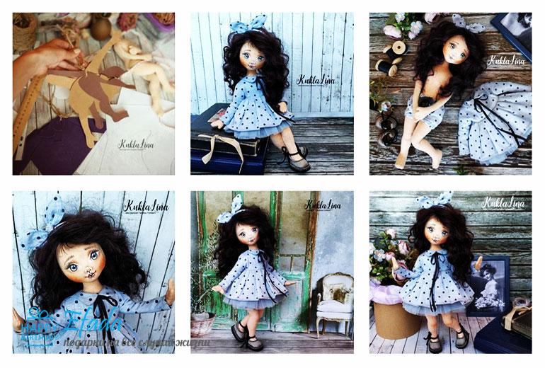 Кукла-Lina-ручной-работы
